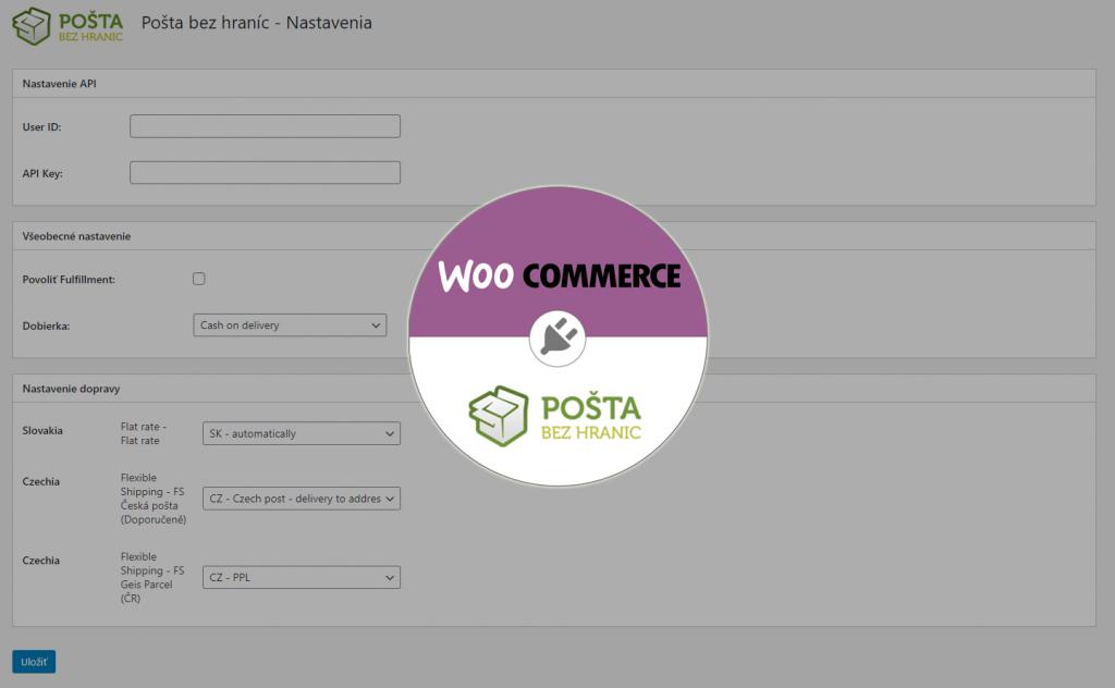 Pošta bez hraníc - Wordpress plugin
